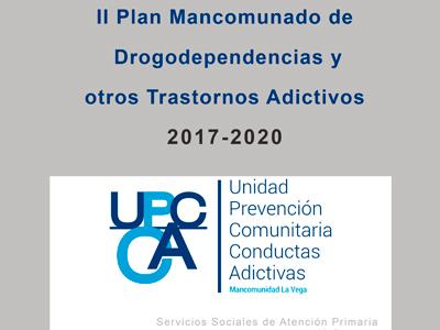 II Plan Mancomunado de drogodependencias y otros trastornos adictivos 2017-2020