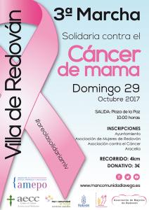 Marcha solidaria contra el cáncer de mama
