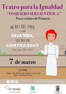Teatro para la igualdad Mancomunidad La Vega