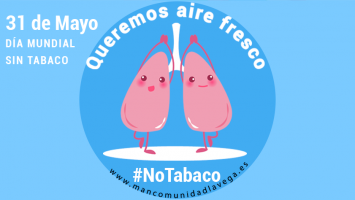 Día mundial sin tabaco. Queremos aire fresco