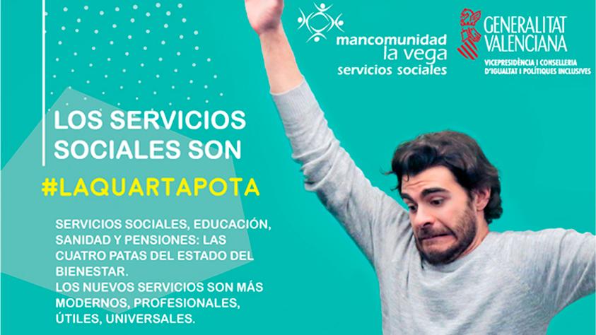 Los Servicios Sociales somos #laquartapota