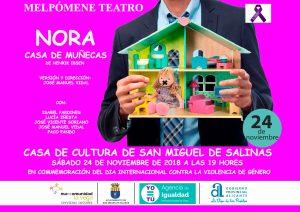 Teatro prevención violencia de género