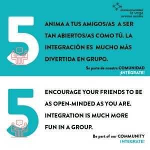 Campaña integración extranjeros conocernos es la clave.