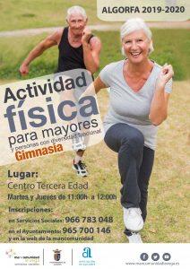 Cartel actividad física