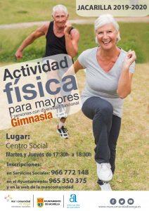 Actividad física mayores