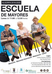 Cartel Escuela Mayores