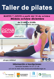 Cartel pilates Jacarilla