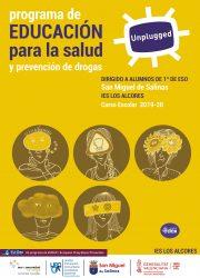 Cartel Unplugged San Miguel de Salinas