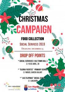 Campaña recogida alimentos San Miguel 2019