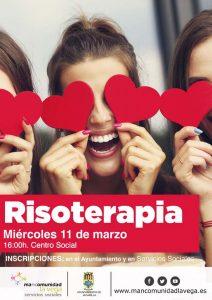 Cartel risoterapia Algorfa 2020