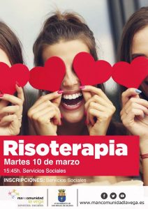Cartel risoterapia San Miguel 2020