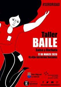 Taller de baile San Miguel 2020