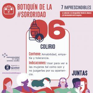 Botiquín de la #Sororidad