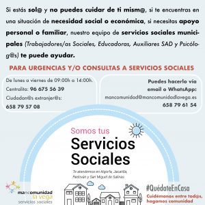 Atención Servicios Sociales
