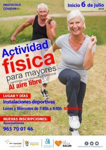 Actividad física Algorfa