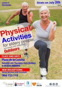 Actividad física San Miguel de Salinas