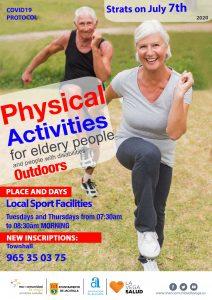 Actividad física Jacarilla
