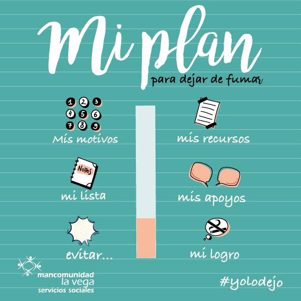 Campaña: Si quieres dejar de fumar necesitas un plan