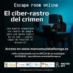 Escape room. El ciber rastro del crimen. Algorfa