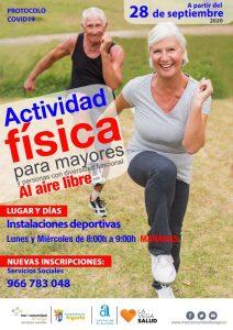 Cartel Actividad Física Algorfa