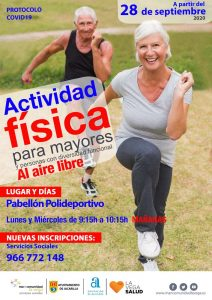 Cartel Actividad Física Jacarilla