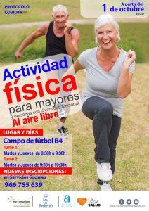 Cartel Actividad Física Redován