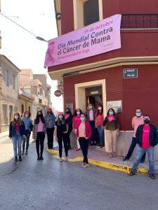 #Mancomunidadlavegasevistederosa, 19 de octubre, Día Mundial Contra el Cáncer de Mama