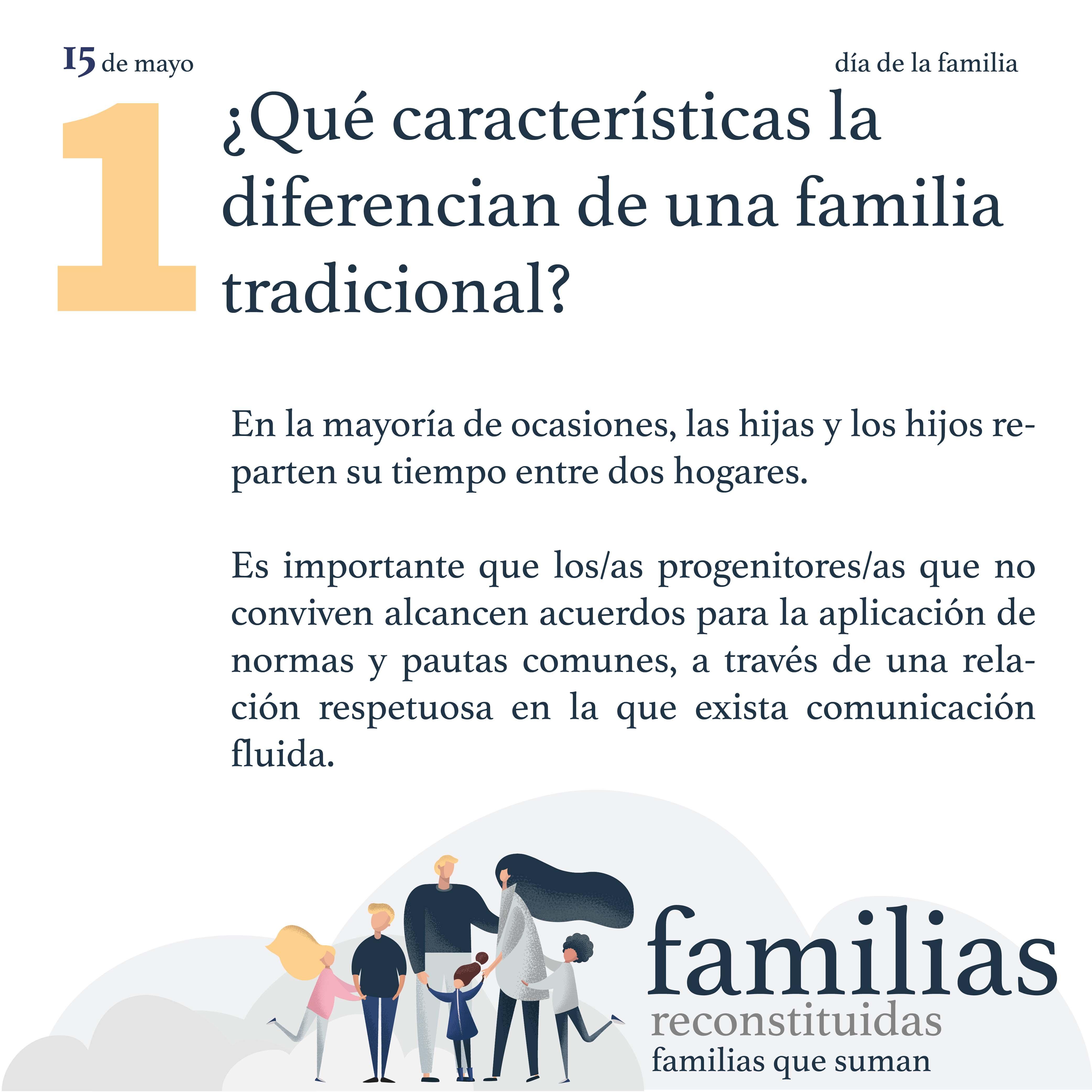 Famiias reconstituidas, familias que suman