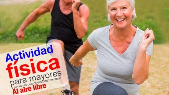 Banner Actividad física mayores