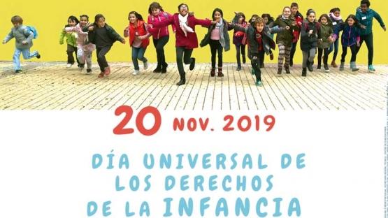 20 de noviembre. Día universal de los derechos de la infancia