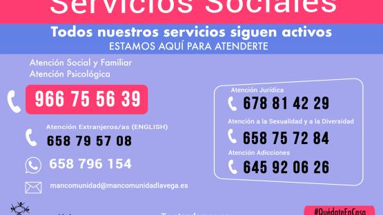 Servicios Sociales contacto