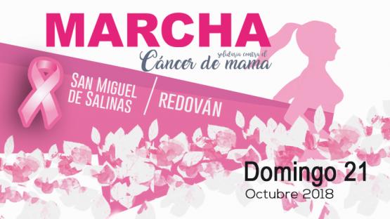 Marcha contra el cáncer de mama